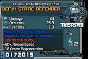 Def14 static defender 48