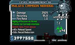 RWL12.G Crimson Nidhogg