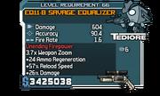 Fry EQ11-B Savage Equalizer