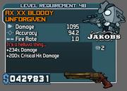 AX XX Bloody Unforgiven
