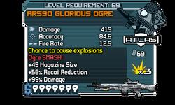 AR590 Glorious Ogre (GJ)