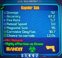 Bandit Rapider Gub
