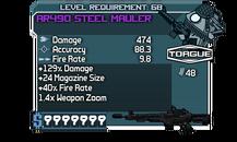 AR490 Steel Mauler