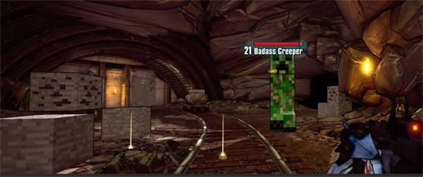Image result for borderlands easter egg minecraft