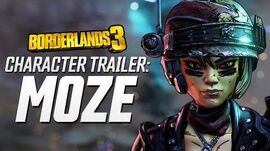 "Borderlands 3 - Moze Character Trailer ""The BFFs"""