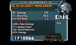 DL10 Bloody Anaconda