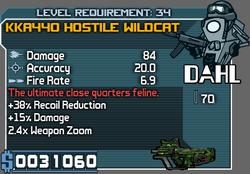 KKA440 Hostile Wilcat