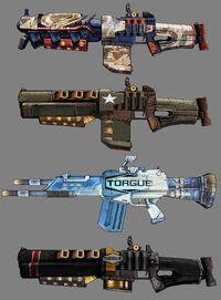 Torgue Shotguns Range 2