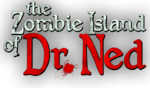 Zombie Island of Dr. Ned logo