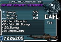 AR40D Desert Stomper