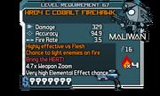 HRD4 C Cobalt Firehawk