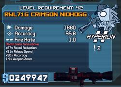 RWL71.G Crimson Nidhogg