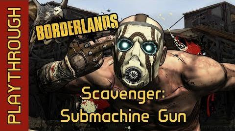 Scavenger Submachine Gun