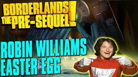 Borderlands The Pre-Sequel Robin Williams Easter Egg - Guaranteed Legendary Morq Shield