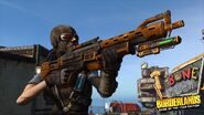 2KGMKT BLHD Game-Image Launch-Screens Shot-11 Guns-Loot Mordecai 01