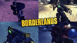 Borderlands 1 - All Legendary Weapons - Animations, Sounds & Effects (2009 - 2019)