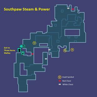 Southpaw Steam Power Borderlands Wiki Fandom Powered By Wikia