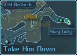 Take Him Down a