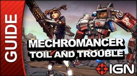 Borderlands 2 Mechromancer Walkthrough - Toil and Trouble - Part 14a