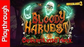 Bloody Harvest Descent into Heck
