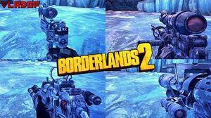 Borderlands 2 - Epic Vladof Weapons - Animations & Sounds w Slow Motion