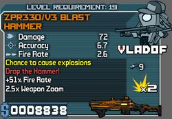 ZPR330V3 Blast Hammer