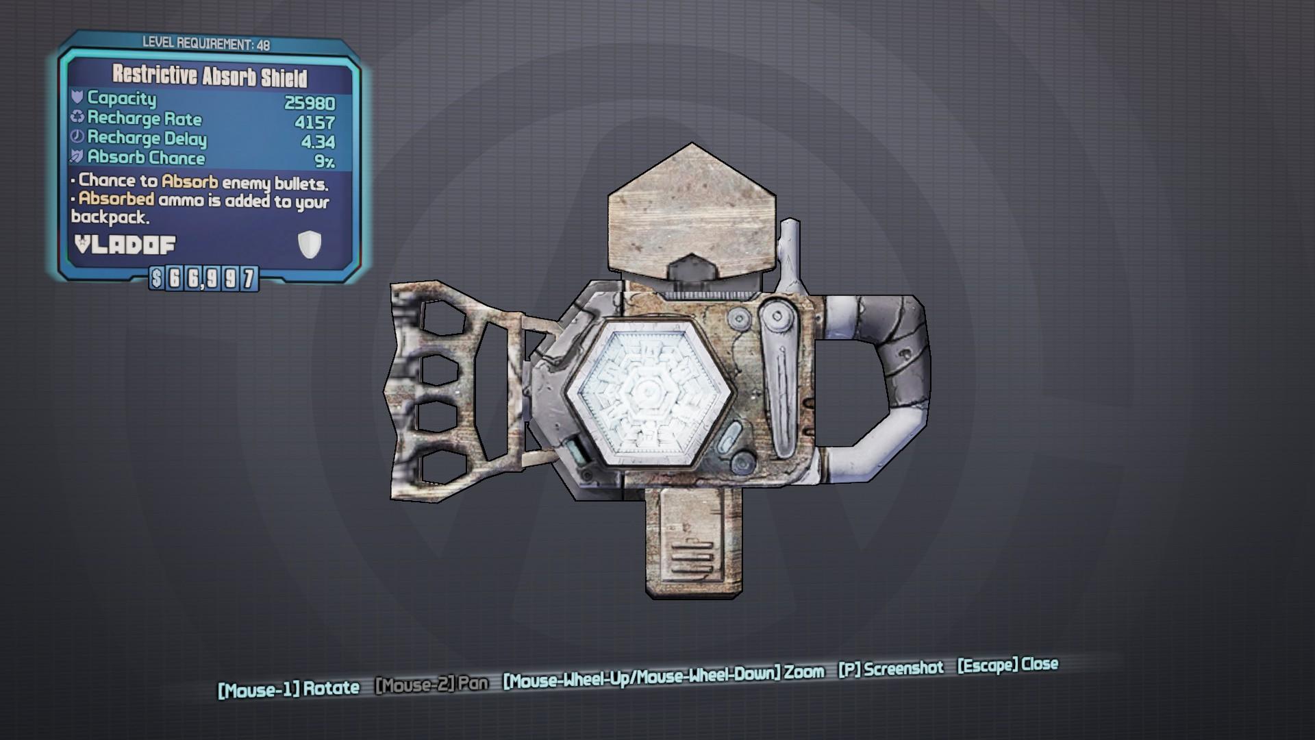 borderlands 2 shield types
