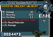Kka340 violent wildcat 34