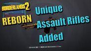 Borderlands 2 Reborn - Все новые штурмовые винтовки