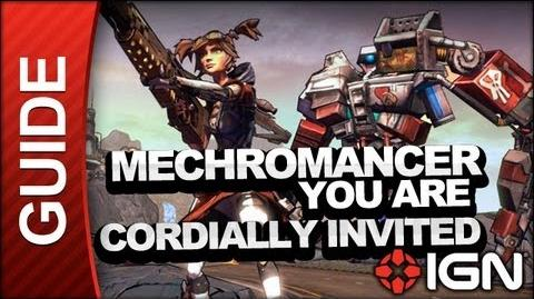 You Are Cordially Invited RSVP - Mechromancer Walkthrough