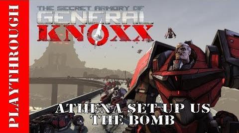 Athena Set Up Us The Bomb