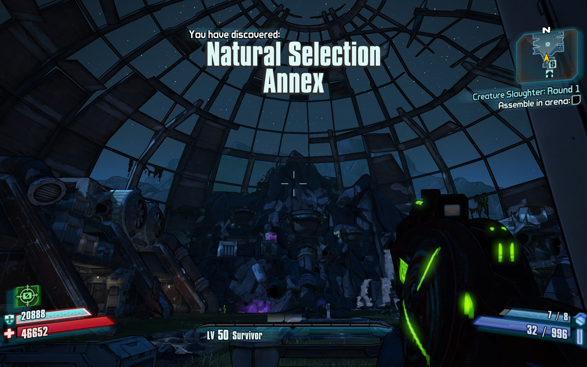 Natural Selection Annex Borderlands Wiki Fandom Powered By Wikia