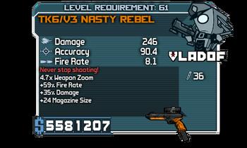 V3 Nasty Rebel