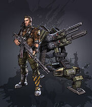 Axton with turret