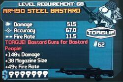 AR490 STEEL BASTARD