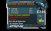 AR580D Desert Raven