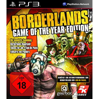 Borderlands GameoftheYear