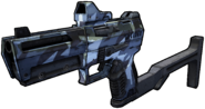 Gun rarity blue