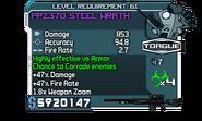 PPZ370 Steel Wrath Zaph