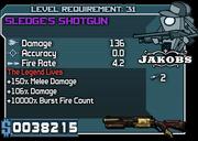 31 sledge's shotgun**
