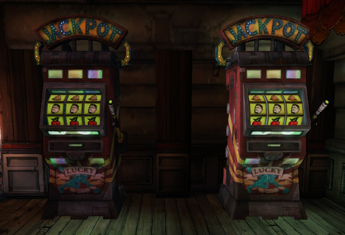 Borderlands 2 slot machines orange weapon strip casino flash game