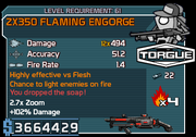ZX350 Flaming Engorge