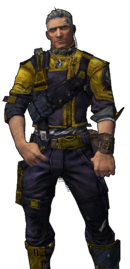 BL2-Axton-Skin-The Man With the Golden Pun