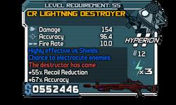 CR Lightning Destroyer