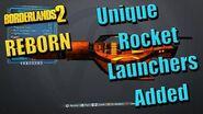 Borderlands 2 Reborn - Все новые ракетометы