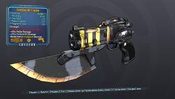 Thrusting 88 Fragnum 57 Orange Explosive