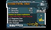ZX330 Fatal Crux