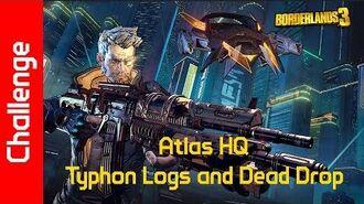 Atlas HQ Challenge Typhon Logs and Dead Drop