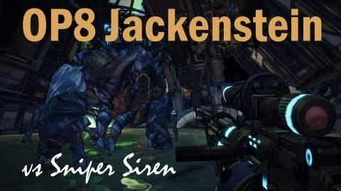 Borderlands 2 UVHM OP8 Jackenstein v Siren