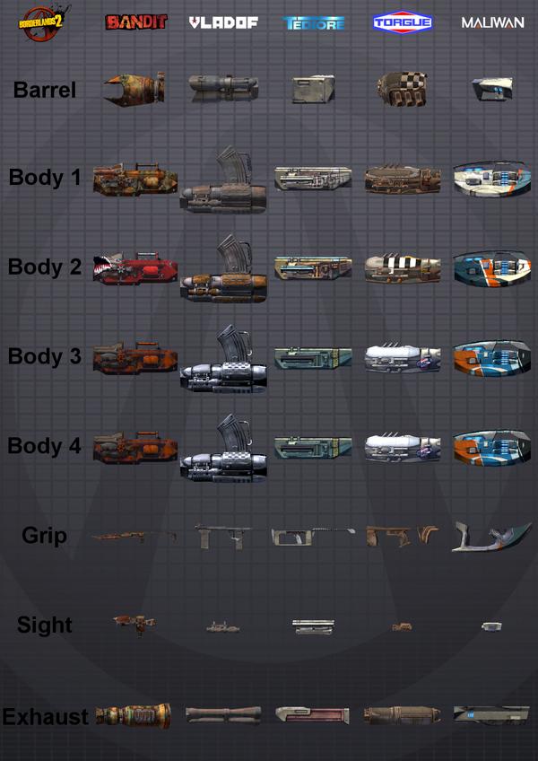Launcher Parts